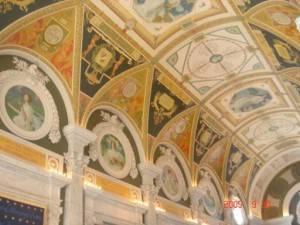 Потолок Библиотеки Конгресса