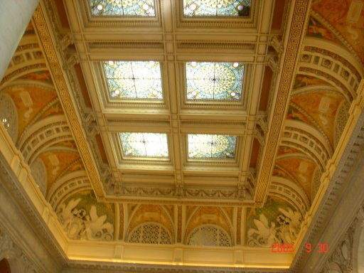 Потолок Библиотеки Конгресса — фото 2