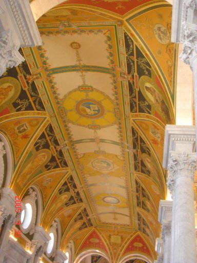 Потолок Библиотеки Конгресса — фото 4
