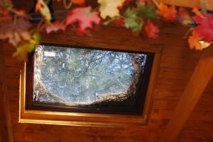 Деревянный потолок — фото 28