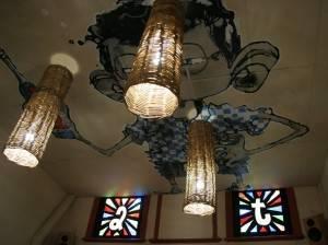 Роспись потолка — фото 37