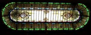 Витражный потолок — фото 31