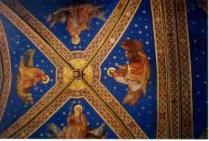 Роспись потолка — фото 98