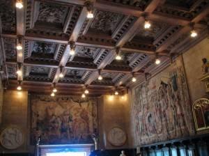 Деревянный потолок — фото 109