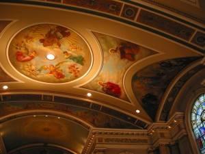 Роспись потолка — фото 318