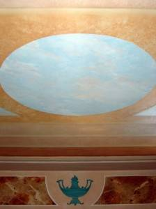 Роспись потолка — фото 80