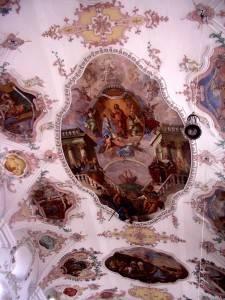 Роспись потолка — фото 45