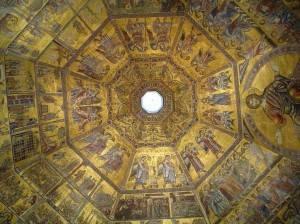 Мозаичный потолок Флорентийского Баптистерия (фото 3)