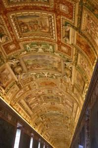 Галерея географических карт в Ватикане (фото 3)