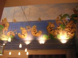 Роспись потолка — фото 61