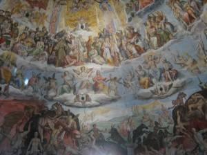 Фреска в куполе собора Санта-Мария-дель-Фьоре, Флоренция (фото 3)