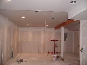 Потолок из гипсокартона — фото 20