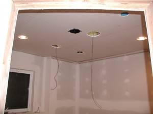 Потолок из гипсокартона — фото 45
