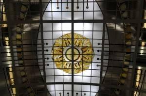 Витражный потолок — фото 50