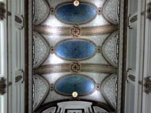 Потолок Тиффани в универсальном магазине Маршалл Филд в Чикаго (фото 5)