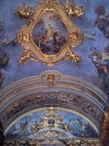 Роспись потолка — фото 62
