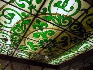 Витражный потолок — фото 32