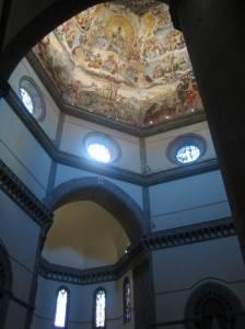 Фреска в куполе собора Санта-Мария-дель-Фьоре, Флоренция (фото 2)