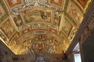 Галерея географических карт в Ватикане (фото 21)