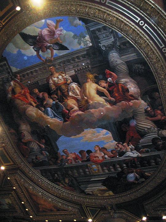 Роспись потолка — фото 238