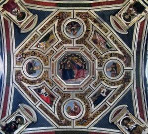Роспись потолка — фото 52