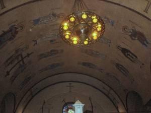 Роспись потолка — фото 354
