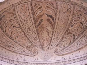 Потолок беседки в поместье Стоу в Букенгемшире