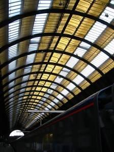 Стеклянная крыша — фото 60