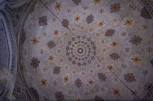 Потолок мечети Кок Гумбаз в Шахрисабзе