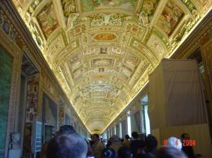 Галерея географических карт в Ватикане (фото 18)