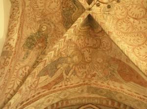 Роспись потолка в церкви города Остра в Швеции (фото 4)