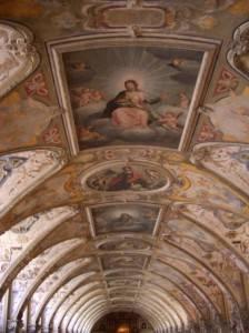Роспись потолка в Мюнхенской резиденции