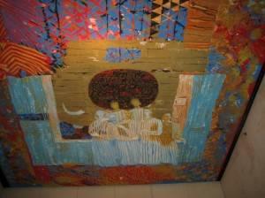 Роспись потолка в стиле фовизм