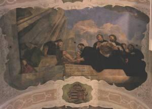 Фреска с омовением ног Христу