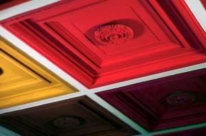 Роспись потолка в стиле поп-арт