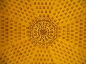 Потолок башни «Лэй фэн Та» в Ханчжоу