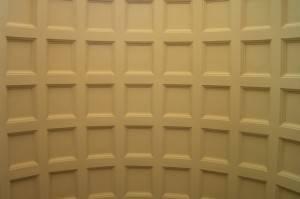 Цилиндрический кессонный потолок