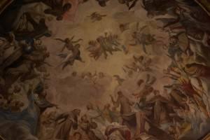 Роспись — король, ангелы и монахи