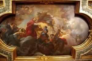 Библейский сюжет на потолке Виллы Медичи