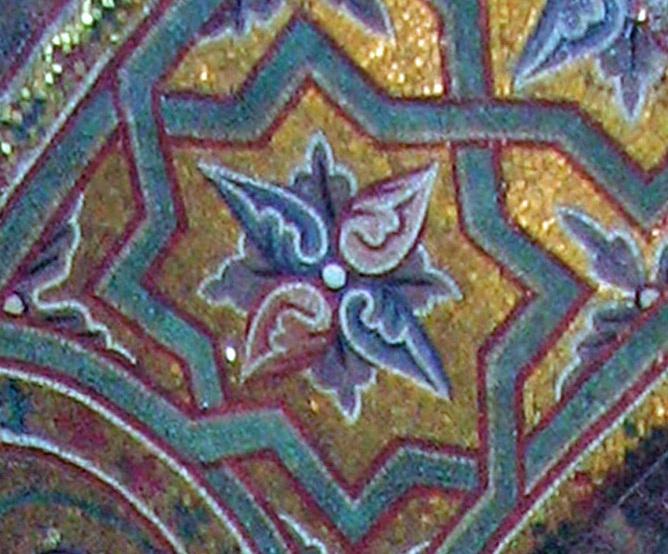 Мозаичный пол — фото 23