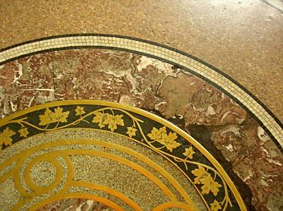 Мозаичный пол — фото 16