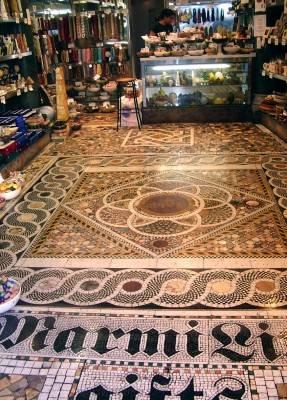 Мозаичный пол — фото 22