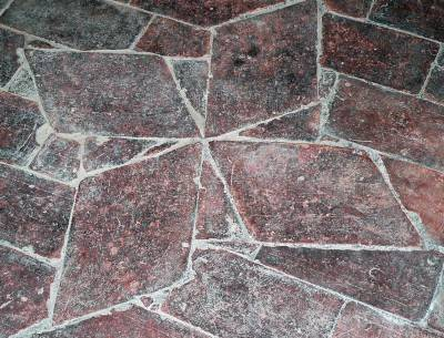 Пол из керамической плитки — фото 13