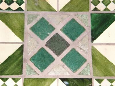 Пол из керамической плитки — фото 15