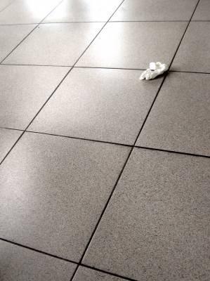 Пол из керамической плитки — фото 11