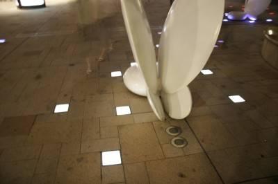 Пол из керамической плитки — фото 49