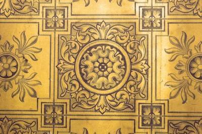 Пол из керамической плитки — фото 92