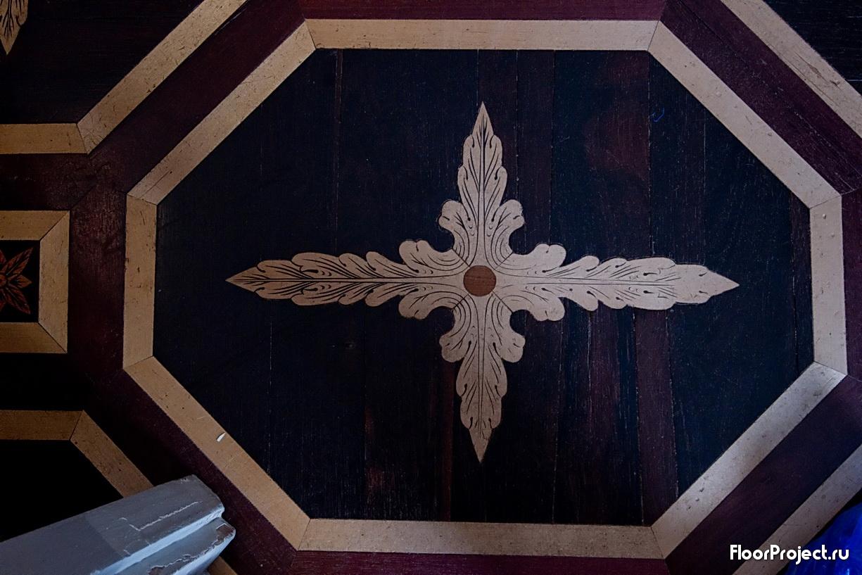 The Pavlovsk Palace floor designs – photo 21