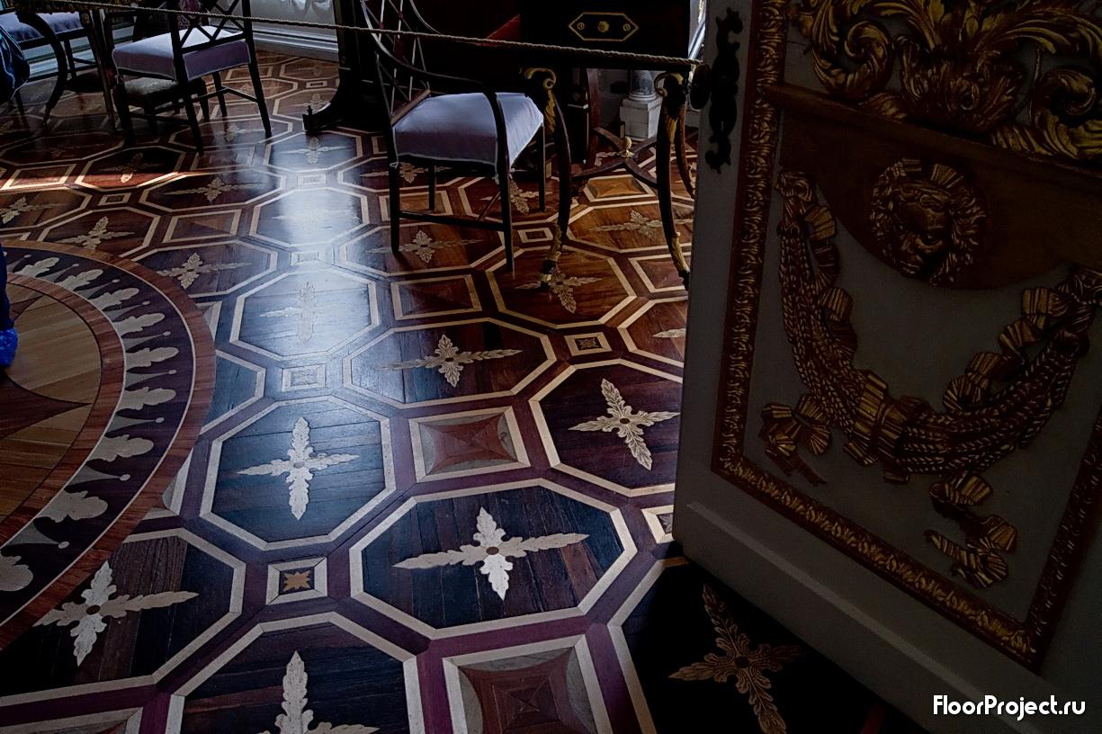 The Pavlovsk Palace floor designs – photo 18