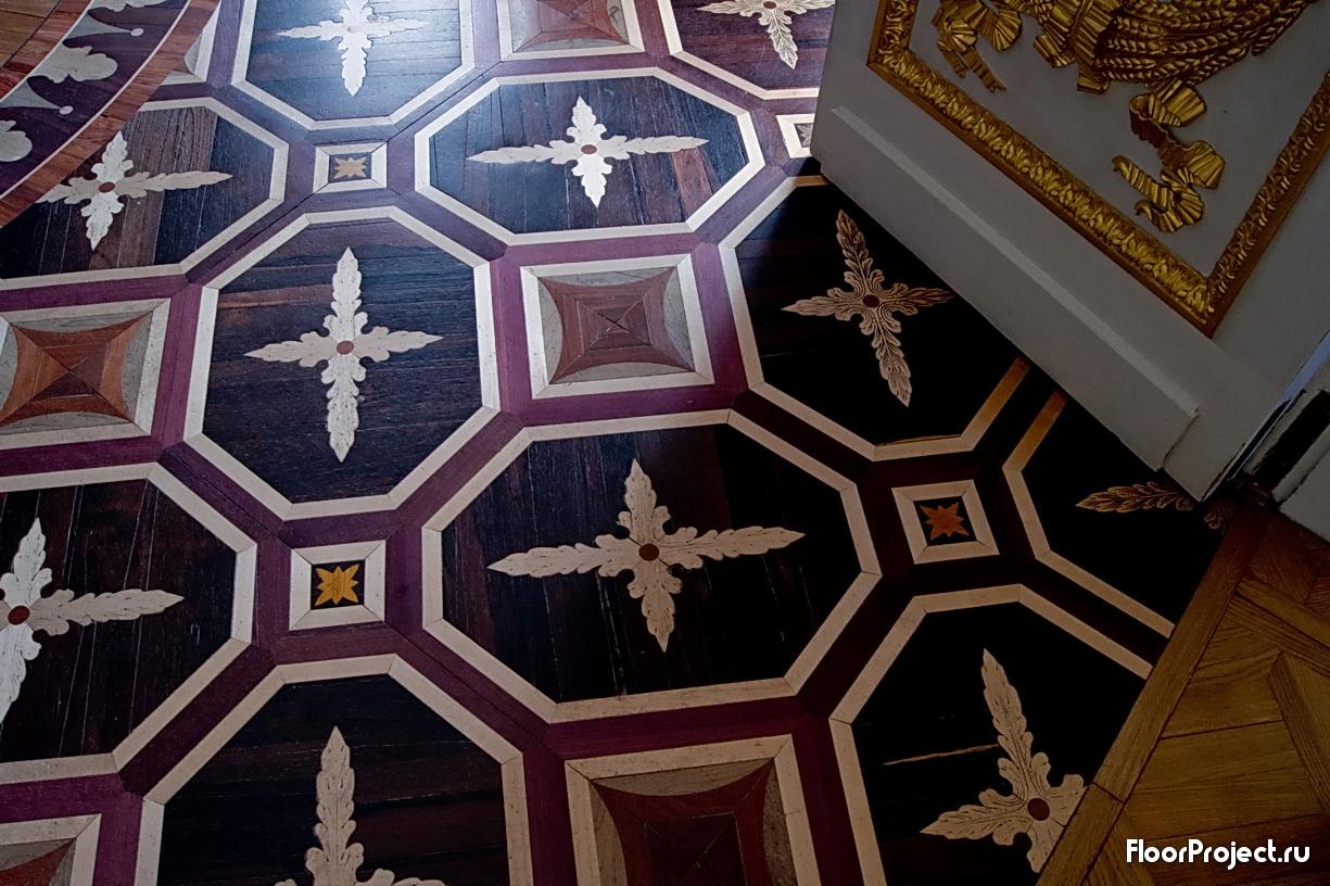 The Pavlovsk Palace floor designs – photo 17